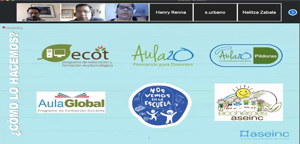 ABC Lab de la UCSH participa en el CO-laboratorio de Transformación Pedagógica del Clúster de Educación Venezuela/OCHA