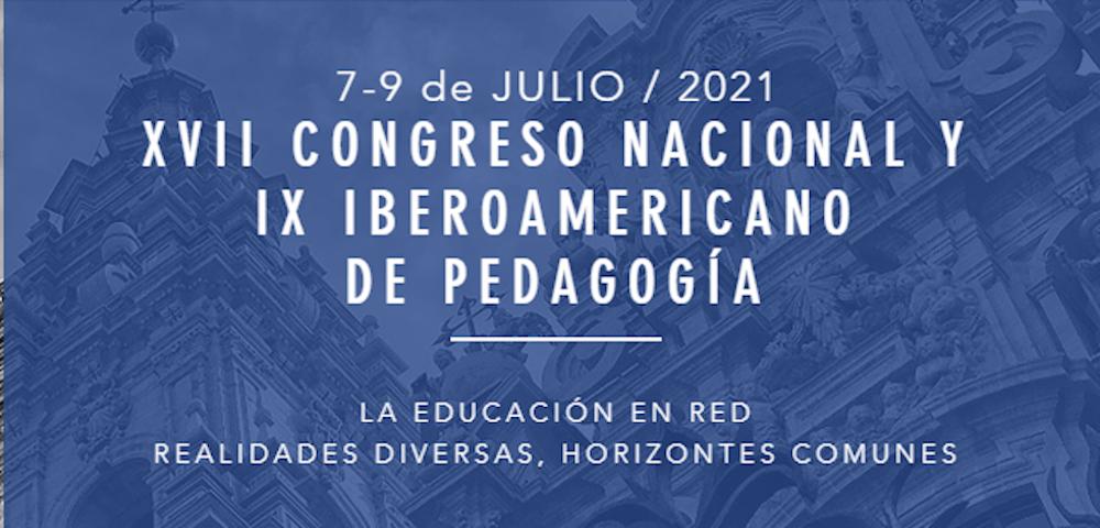 XVII Congreso nacional y IX iberoamericano de pedagogía 1000x480