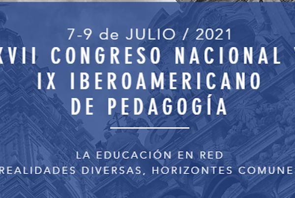 XVII Congreso nacional y IX iberoamericano de pedagogía 980x470